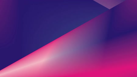 lógica : Vibrant gradient. Abstract, dynamic video with animation. Fashionable ultraviolet colors. Motion graphics with geometric shapes Smooth camera movement with blur at the end.