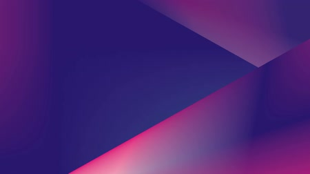 lógica : Vibrant gradient. Abstract, dynamic video with animation. Fashionable UV colors. Motion graphics with geometric shapes Smooth camera movement with blur at the end. Stock Footage