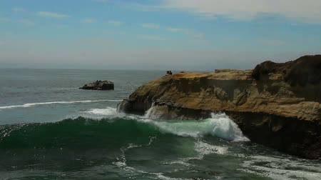 descanso : Footage - Ocean Waves of California Coast