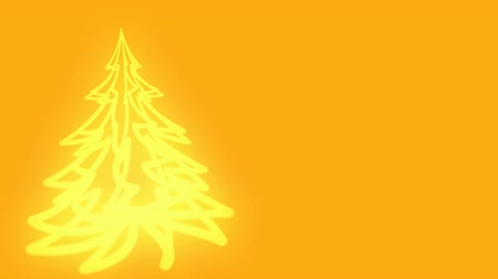 Animated background with a rotating three-dimensional Christmas tree. Backdrop is left blank to accommodate text or video