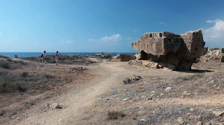 archeological : Tombs of the King in Pafos city, Cyprus