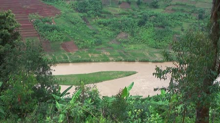 mainstream : One of the sources of the Nile near the Virunga Mountains, Rwanda, Africa
