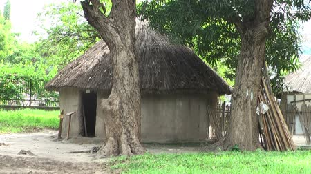 kulübe : A traditional hut in the Kijiji cha Makumbusho, or Village Museum. Huts from 16 different Tanzanian ethnic groups. Outskirts of Dar es Salaam. Tanzania, Africa