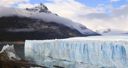 américa do sul : Glacier Perito Moreno National Park in autumn. Argentina, Patagonia