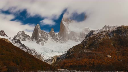 Mount Fitz Roy all'alba. Argentina, Patagonia.