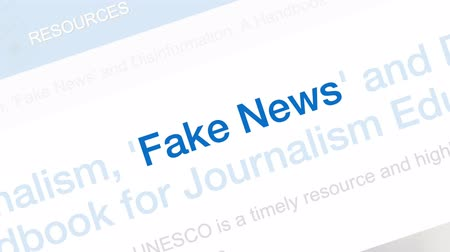 ヘッドライン : Tallinn  Estonia - June 16, 2019: Fake news concept. Fake News and Social Media. Can be used as illustrative for other social media.