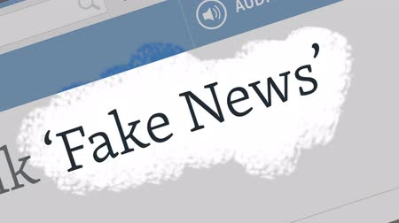Észtország : Tallinn  Estonia - June 16, 2019: Fake news concept. Fake News and Social Media. Can be used as illustrative for other social media.