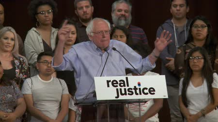 sosyalizm : HOW INSANE IS THAT?. Bernie Sanders on how those charged but not convicted with a crime can lose everything. June 2nd, 2018 at the Rally for Justice in downtown Los Angeles, California.