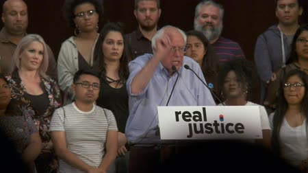 Legalize and Decriminalize Weed. Bernie Sanders speaks about marijuana. June 2nd, 2018 at the Rally for Justice in downtown Los Angeles, California.