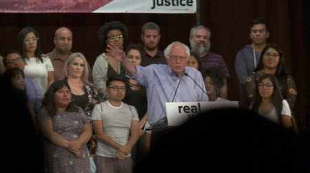 War on Drugs Destruction. Bernie Sanders speaks about the African-American community. June 2nd, 2018 at the Rally for Justice in downtown Los Angeles, California.