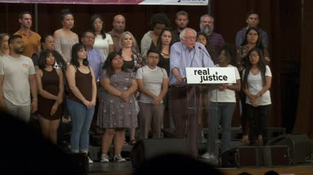 president of united states : Better Trained Police. Bernie Sanders speaks about police department reform. June 2nd, 2018 at the Rally for Justice in downtown Los Angeles, California.