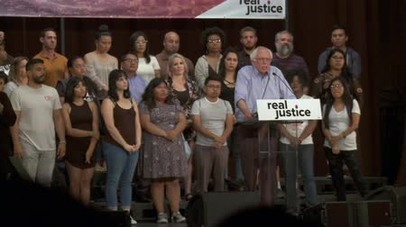 sosyalizm : MUST BE HELD ACCOUNTABLE. Bernie Sanders comments on police brutality. June 2nd, 2018 at the Rally for Justice in downtown Los Angeles, California.