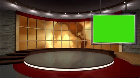 estúdio : This background is designed to be used as a virtual background in a green screen or chroma key video production, playing in seamless loop. Vídeos