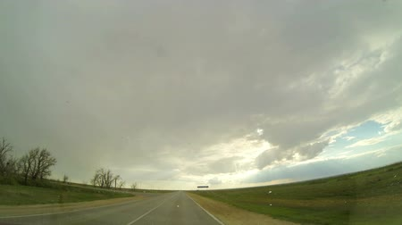 çatal : Road in the steppes of Kalmykia and Russia, (Time Lapse) Full HD