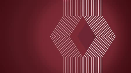 szilárd : Geometrical lines flat animation with solid on dark red background for titles.