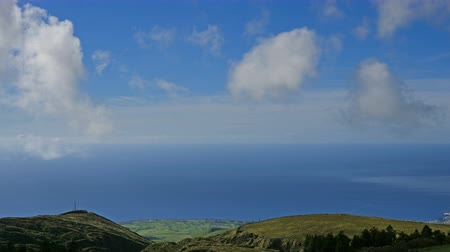 sao miguel : Green valley and ocean on San Miguel island of Azores