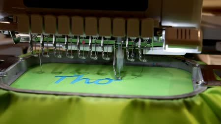 maquinaria : modern sewing machine