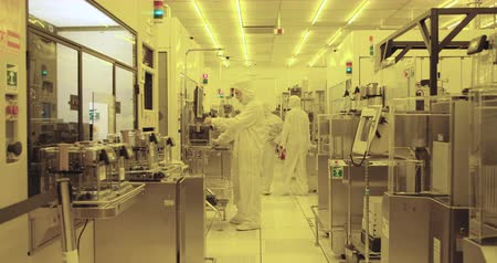 elektronika : Semiconductor manufacturing process Wideo