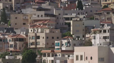 zsidó : Overview of an Arab city in Israel with a large mosque rising above