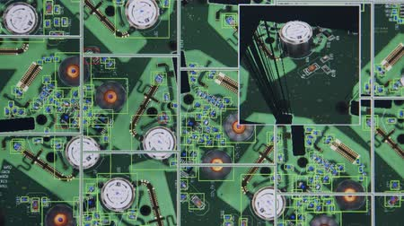 tranzistor : Visual and 3D inspection of a computer circuit board using laser scanning