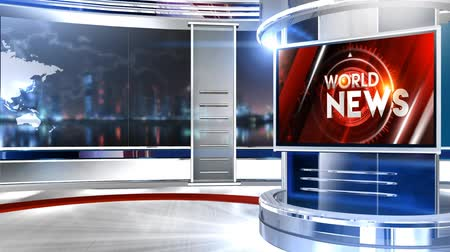 television set : 3D rendering background is perfect for any type of news or information presentation