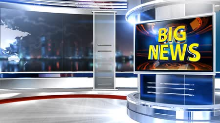 3D rendering background is perfect for any type of news or information presentation