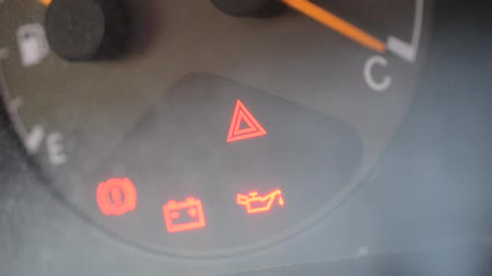 uyarmak : car hazard light and emergency warning lights for oil, battery and handbrake