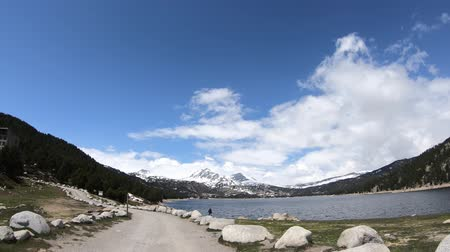 capcir : Pyrenean lake of Bouillouses in Capcir, Pyrenees orientales in southern of France