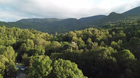 Aerial view  of haystack on pyrenean field in Aude, Languedoc in southern of France Stock Footage