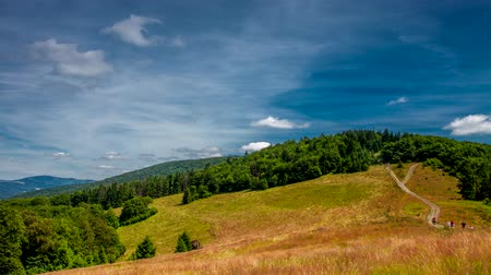 Carpathian time lapse, photos taken in Beskid mountains, Polish.