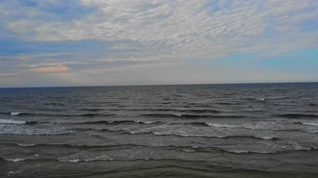Gulf of Gdansk in the Baltic Sea. D-cinelike file for color grading.