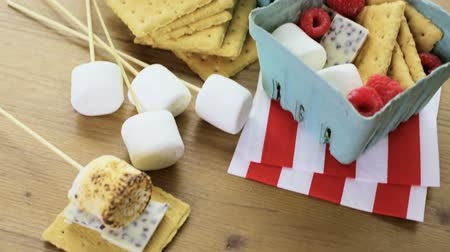shovívavost : Smores with white chocolate and fresh raspberries. Dostupné videozáznamy