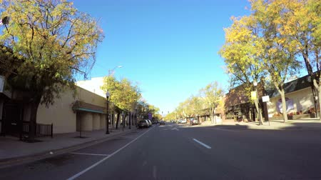 karpatské : Littleton, Colorado, USA-October 13, 2015. Drive through Main Street of historical downtown of Littleton.