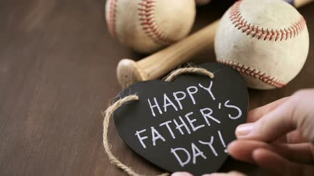 Celebrating Fathers Day for baseball dad.
