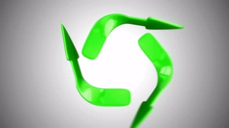 устойчивость : Recycling and environment eco concept. Alpha channel is included