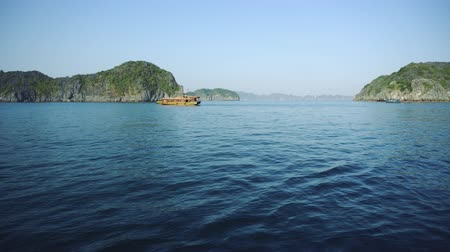 ba : Panoramic View Of Halong Bay Vietnam