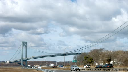Verrazano bridge time lapse day time