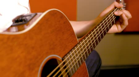 kytara : Acoustic Guitar Close Up