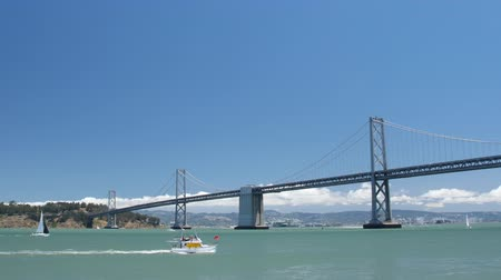 San Francisco Bay Bridge & Ocean Scenic Wideo