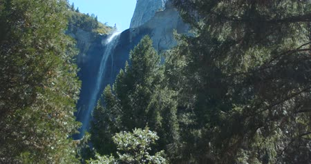 Bridalveil Falls, Yosemite National Park Waterval