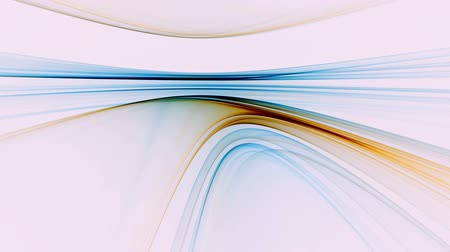 řádek : Abstract  colorful horizon stretching off to infinity on white background, animation, 30fps, HD1080, seamless loop