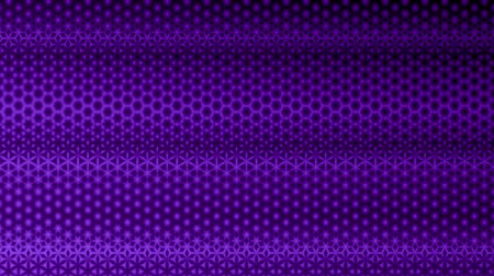 Repeating purple starry pattern design.  Colorful kaleidoscopic motion graphic background. Animation, abstract illustration, seamless loop