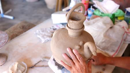 zanaat : Clay making in studio