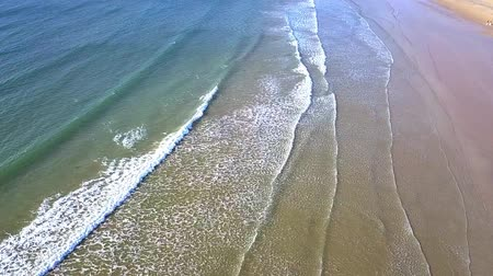 tasmania : Beautiful view from above of Greens beach near the Launceston in Tasmania. Stock Footage