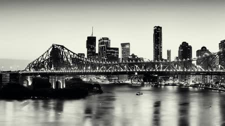 palmo : The Story Bridge in Brisbane, Queensland, Australia. Vídeos