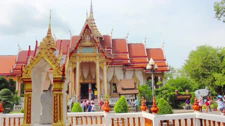 budist : Thai temple Wat Chalong Phuket Thailand