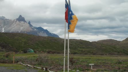 stark : Wind weht stark in Patagonien Videos