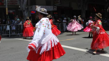 бразильский : San Francisco Carnival, May 2016, California USA, Parade in the mission district of San Francisco