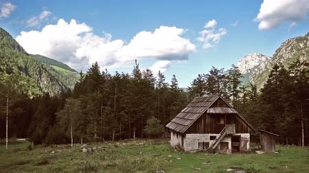 Бавария : Mountain cabin in European Alps, Robanov kot, Slovenia