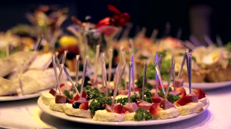 gourmet : Appetizer on the table
